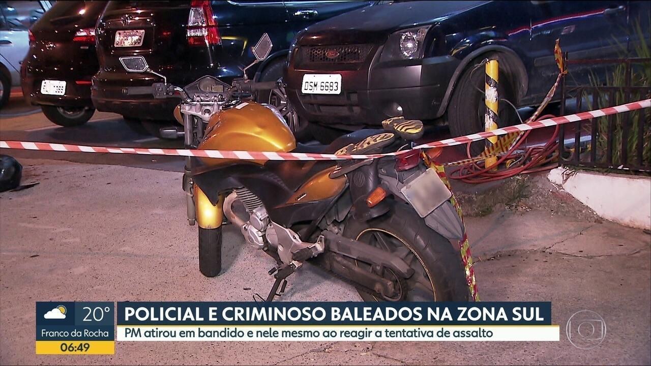 PM é baleado ao reagir a assalto no Capão Redondo