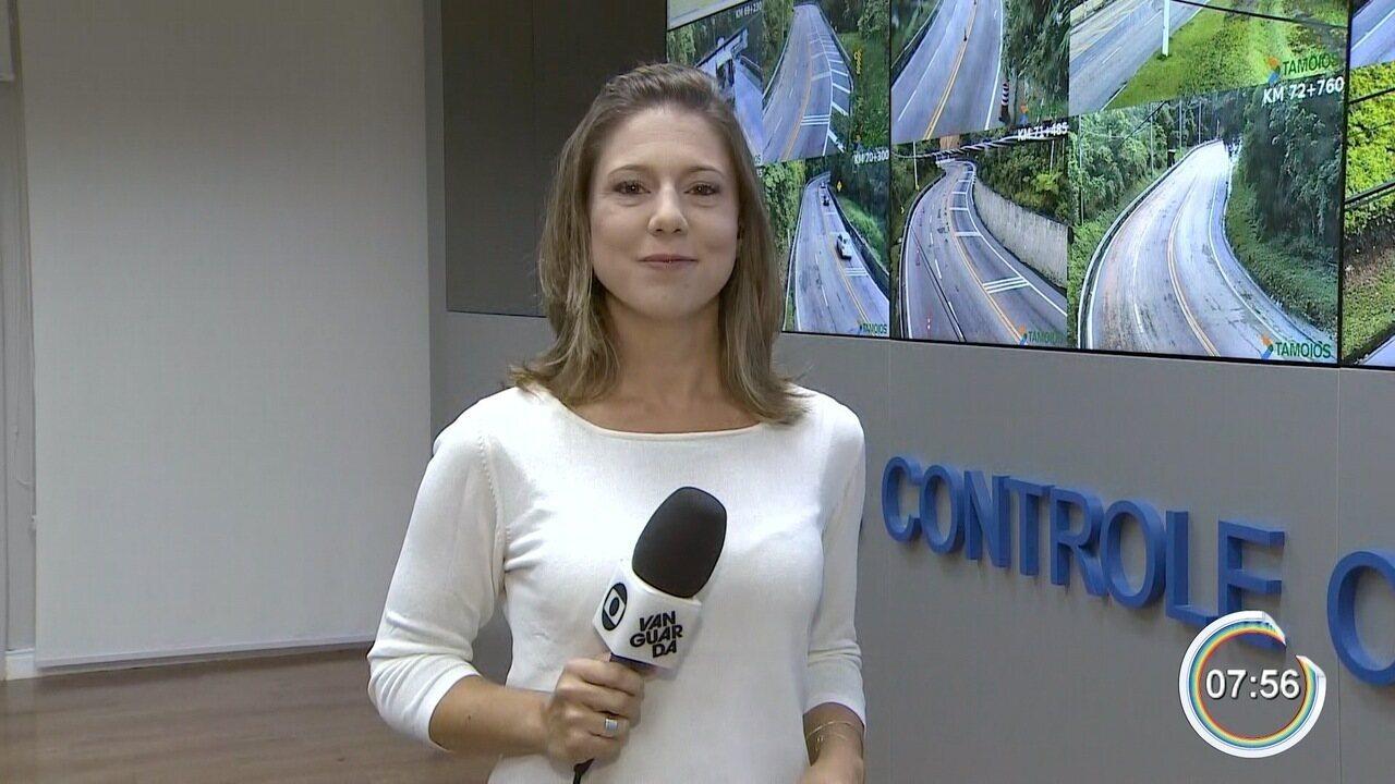 Tamoios é liberada para tráfego após quase 12h de interdição