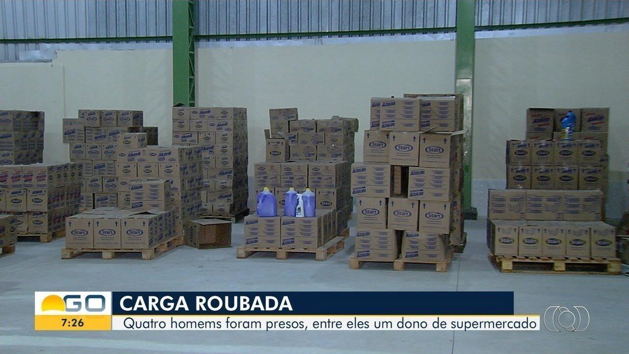 Dono de supermercado é preso em Goiânia suspeito de roubo de cargas