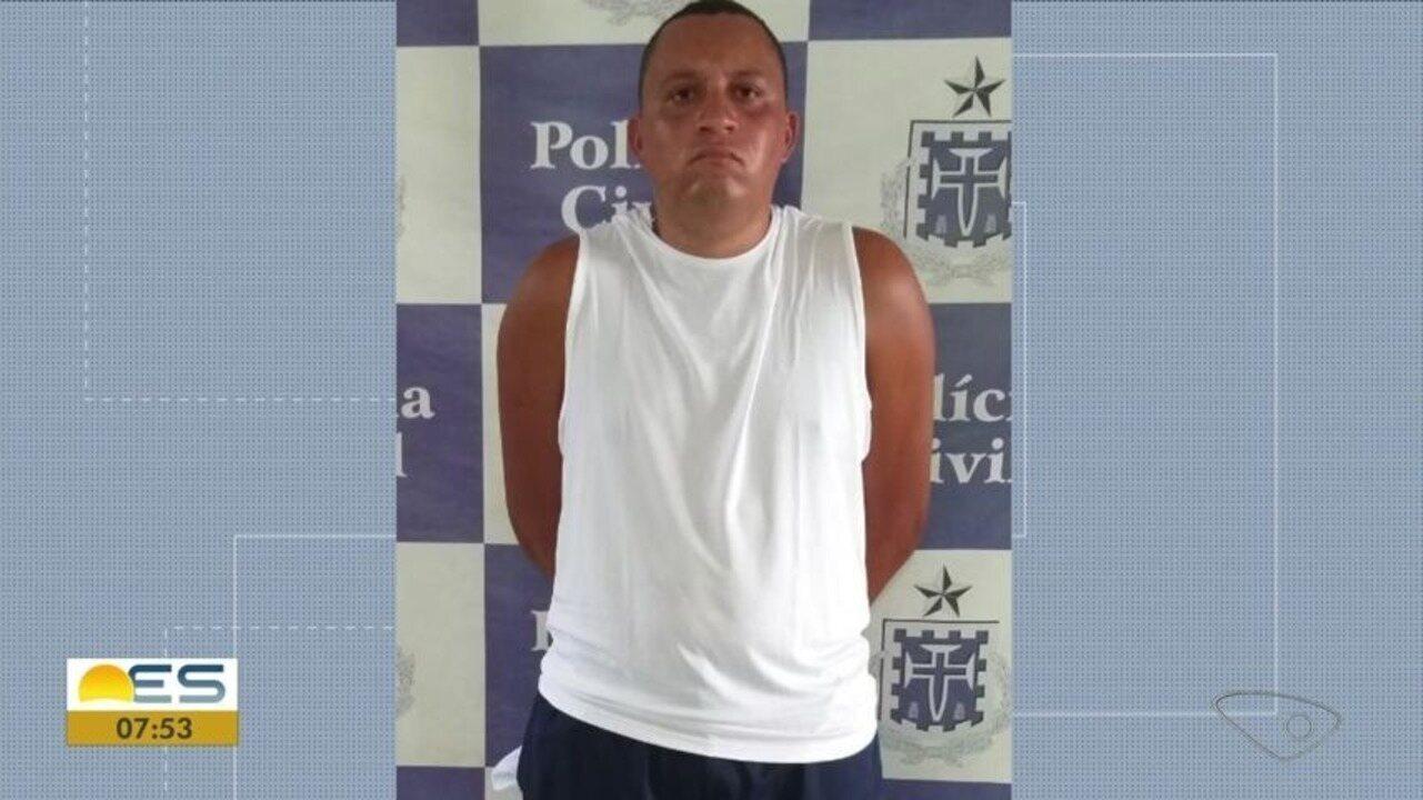 Chefe do tráfico de bairro de Vila Velha, ES, é preso na Bahia