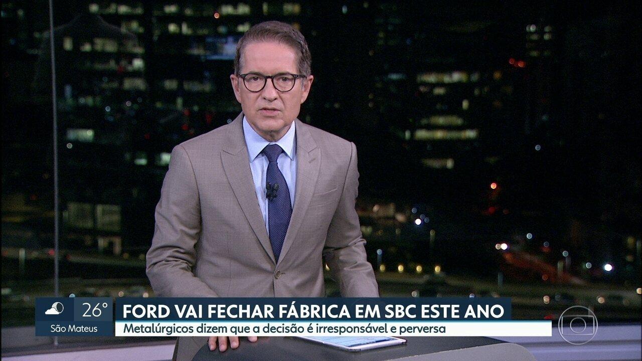 Ford vai fechar fábrica em São Bernardo do Campo