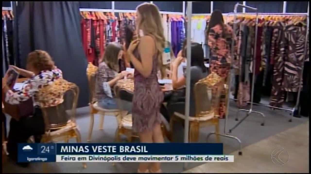 Empresários do setor de confecção participam da Feira Minas Veste Brasil em Divinópolis