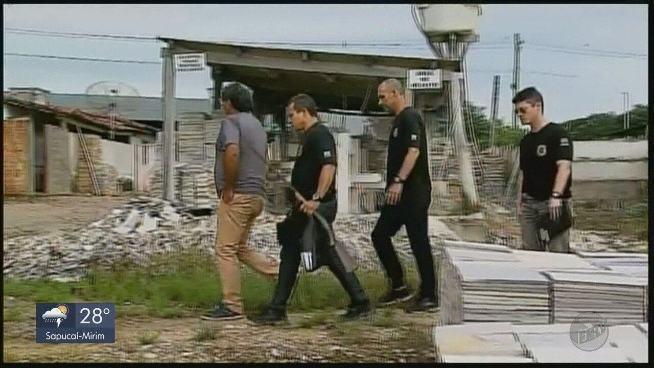 Polícia Federal prende suspeitos de extrair ilegalmente pedras de quartzito