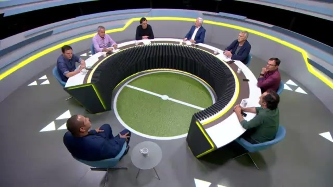 No Grande Círculo, Casagrande e pai de Neymar discutem craque