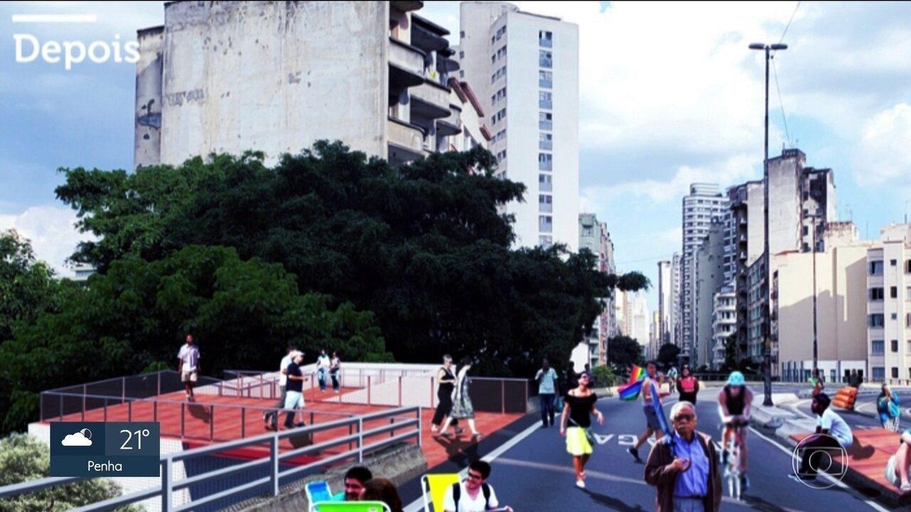 Prefeitura anuncia obras no Parque Minhocão