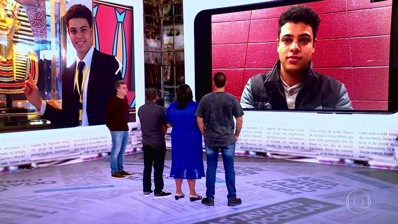 Huck conversa com Jonas três anos após o Lar Doce Lar