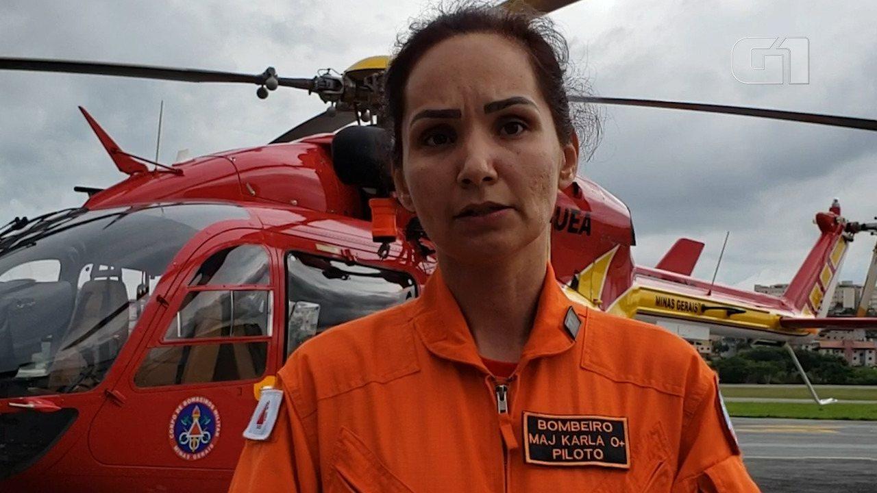 Major relata os primeiros momentos das buscas por sobreviventes em Brumadinho