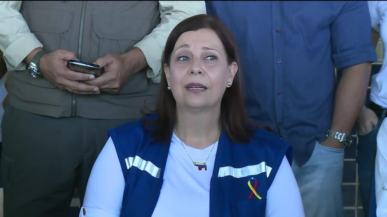 'Pedimos que crianças não sigam morrendo de fome', diz María Teresa Belandria