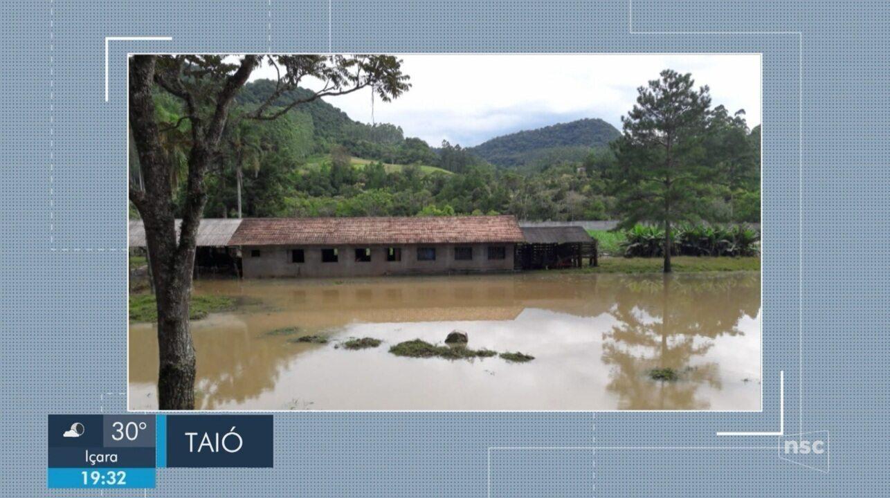 Giro de notícias: barragem de central de hidrelétrica se rompe em Taió