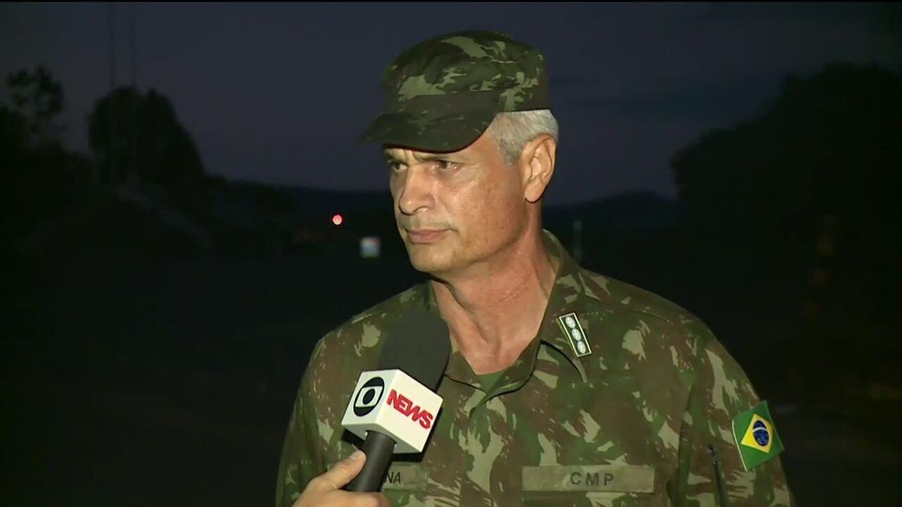 'Foi um episódio lamentável', diz coronel sobre ação da Venezuela na fronteira com Brasil