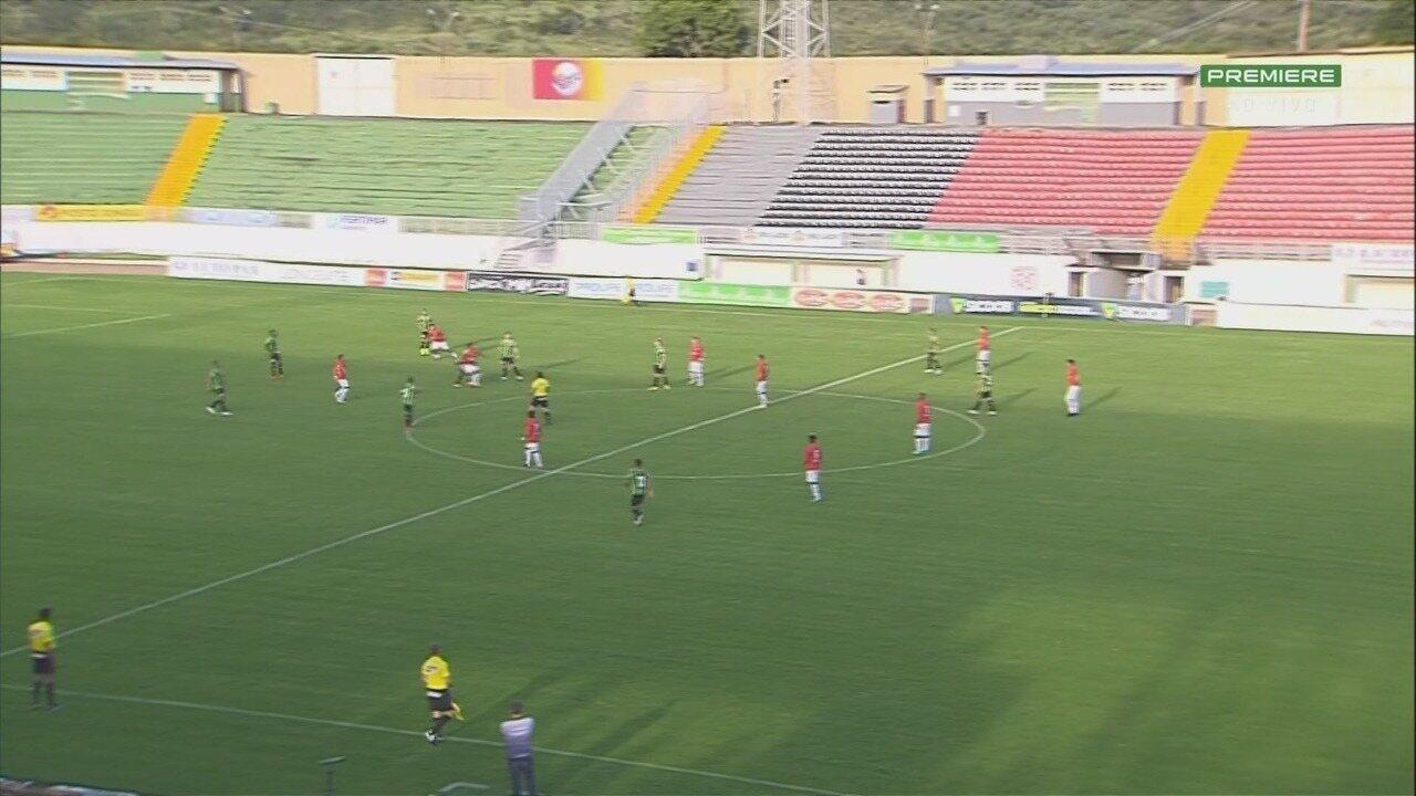 Veja os melhores momentos da partida entre Boa Esporte e América-MG em Varginha