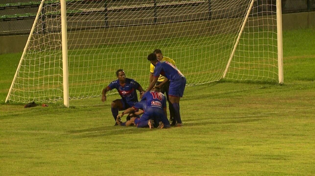Os gols de Piauí 3 x 1 4 de Julho pela sétima rodada do Campeonato Piauiense