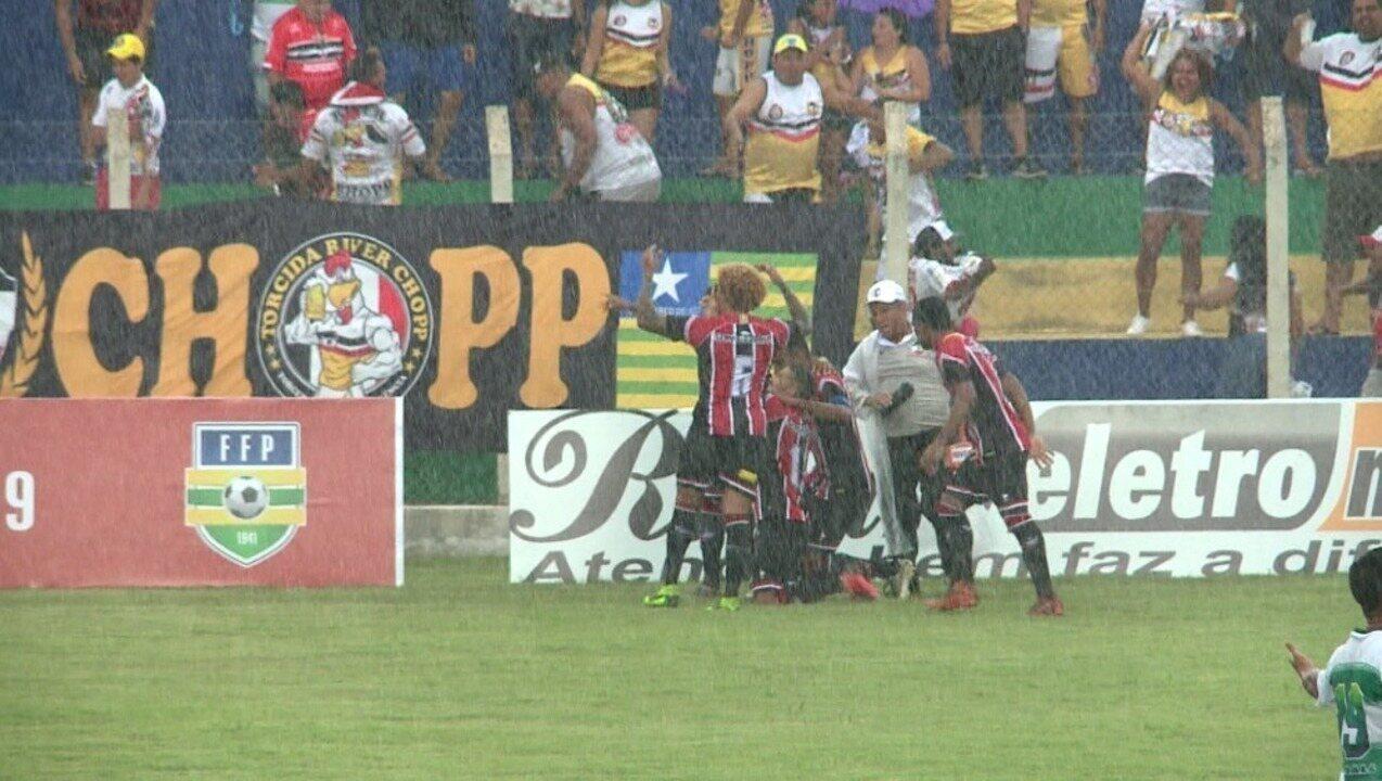 Os gols de Altos 1 x 2 River-PI pela sétima rodada do Campeonato Piauiense