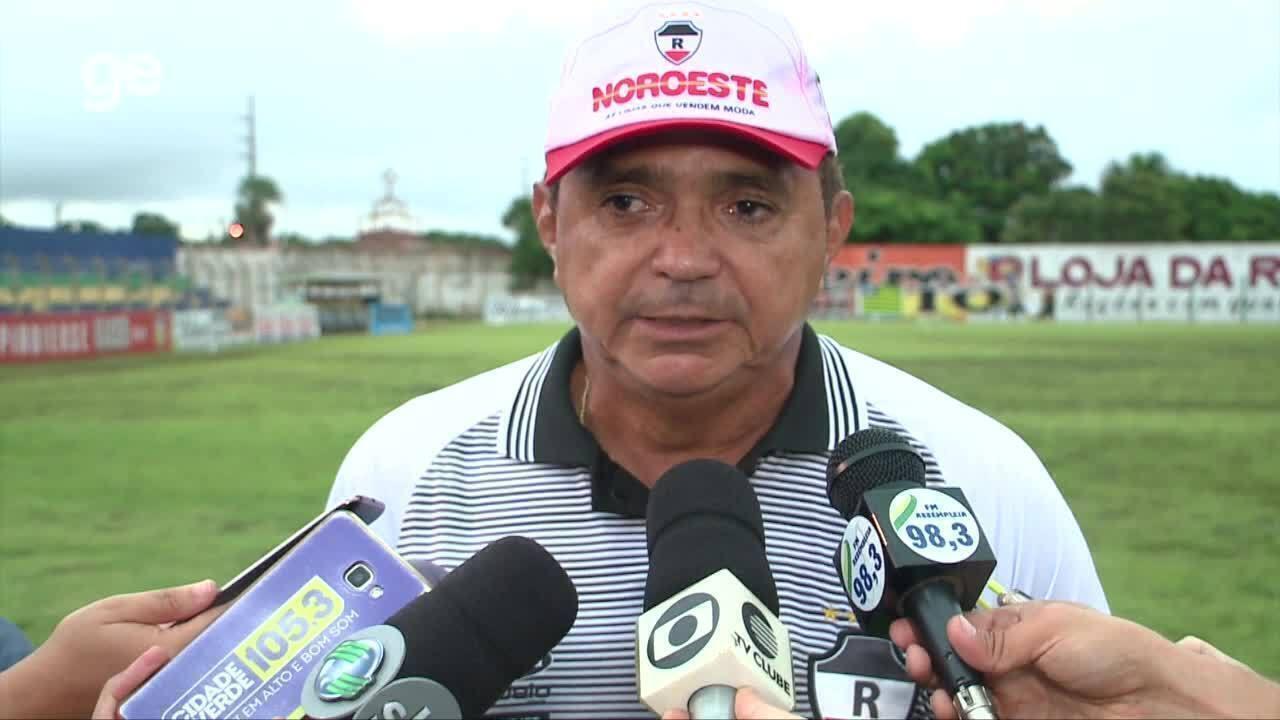 Confira a coletiva de imprensa de Flávio Araújo após partida contra Altos