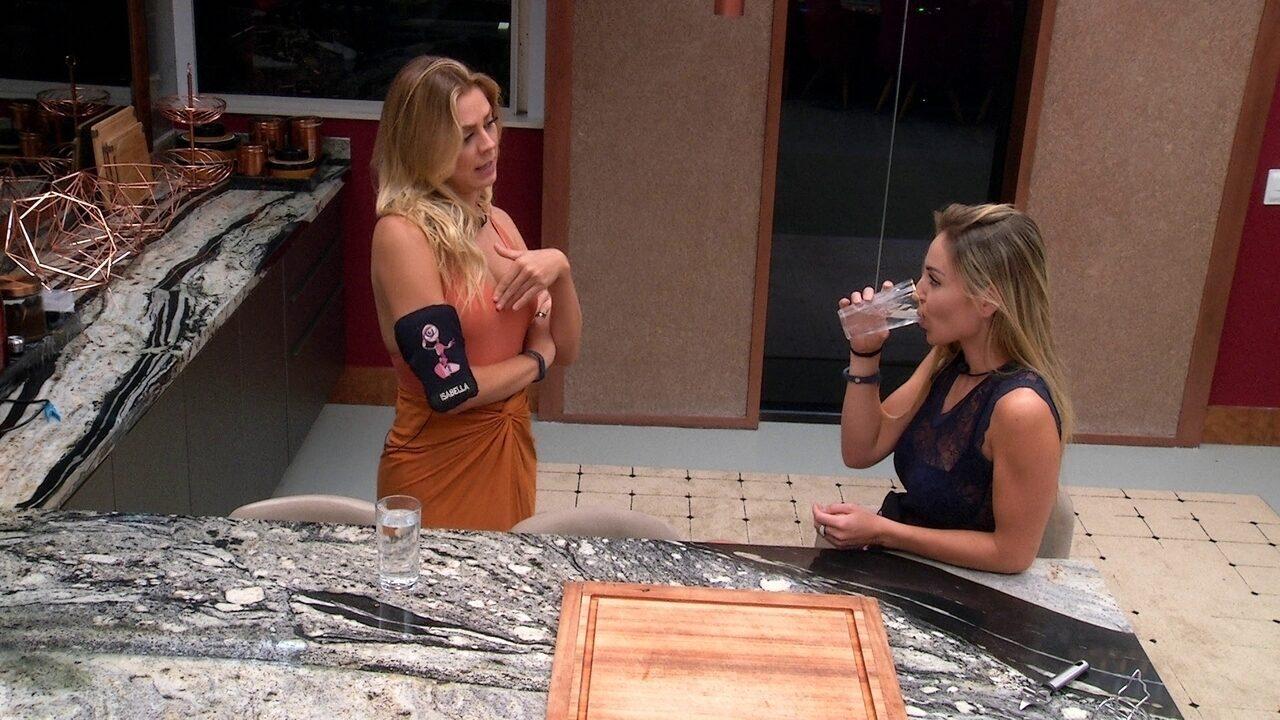 Isabella comenta indicação de Elana: 'Foi questão de ego'