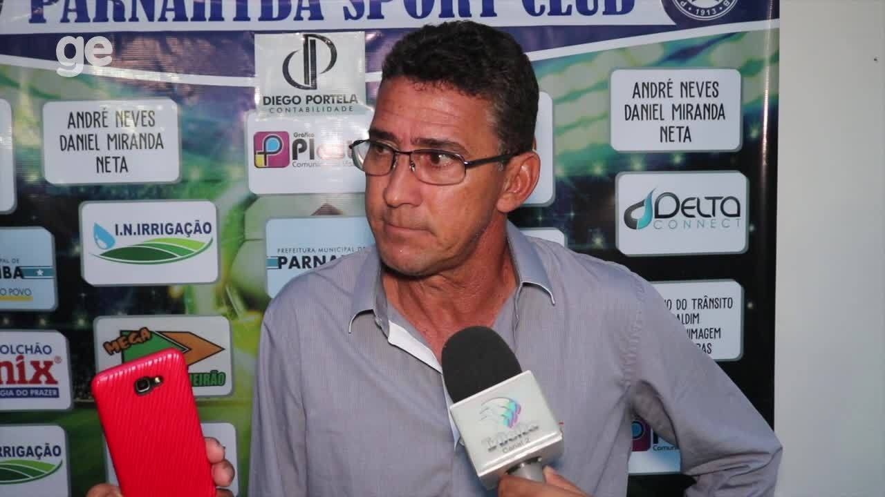Novo técnico do Parnahyba, Aroldo Moreira aprova exibição do time antes de assumir cargo