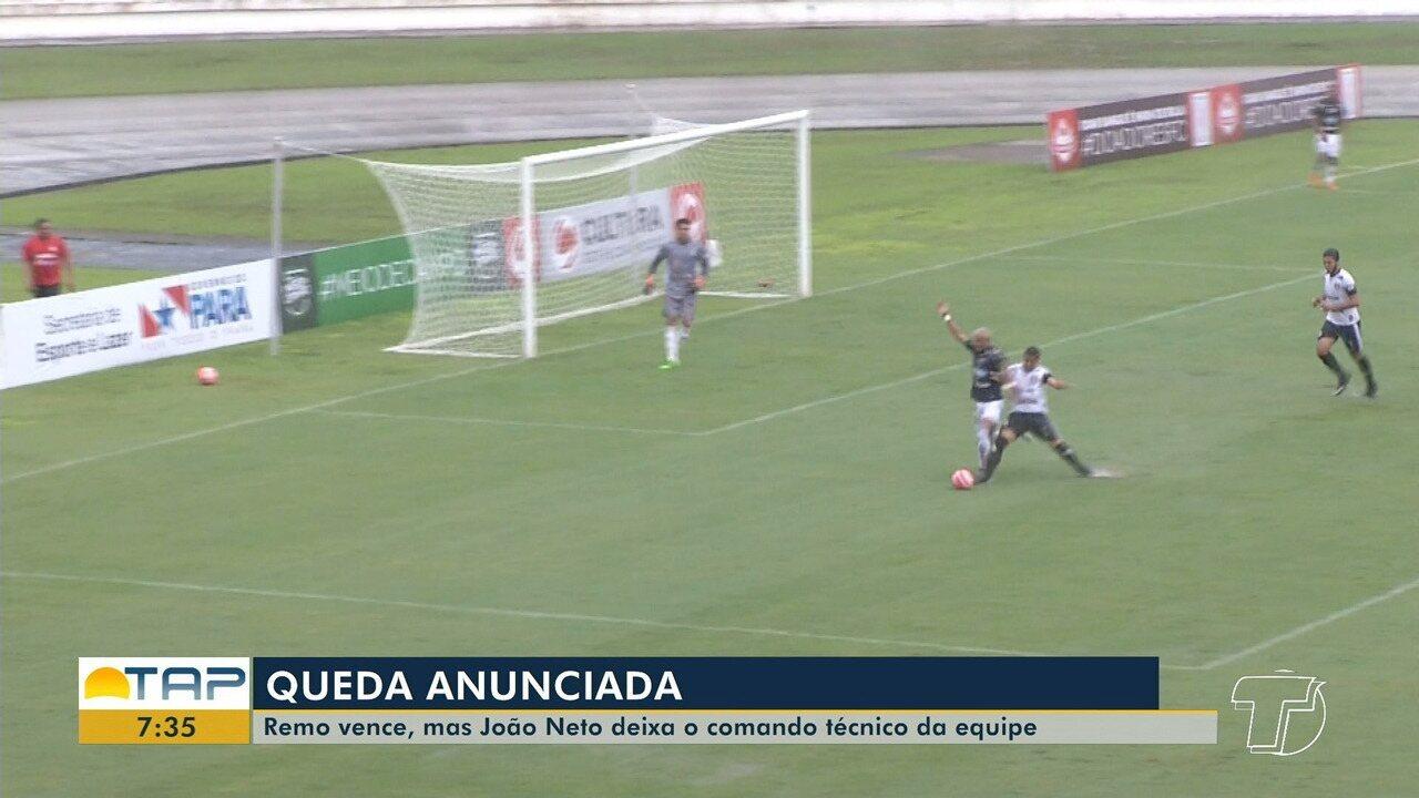 Veja o lance que originou o pênalti e primeiro gol do Remo contra o Pantera