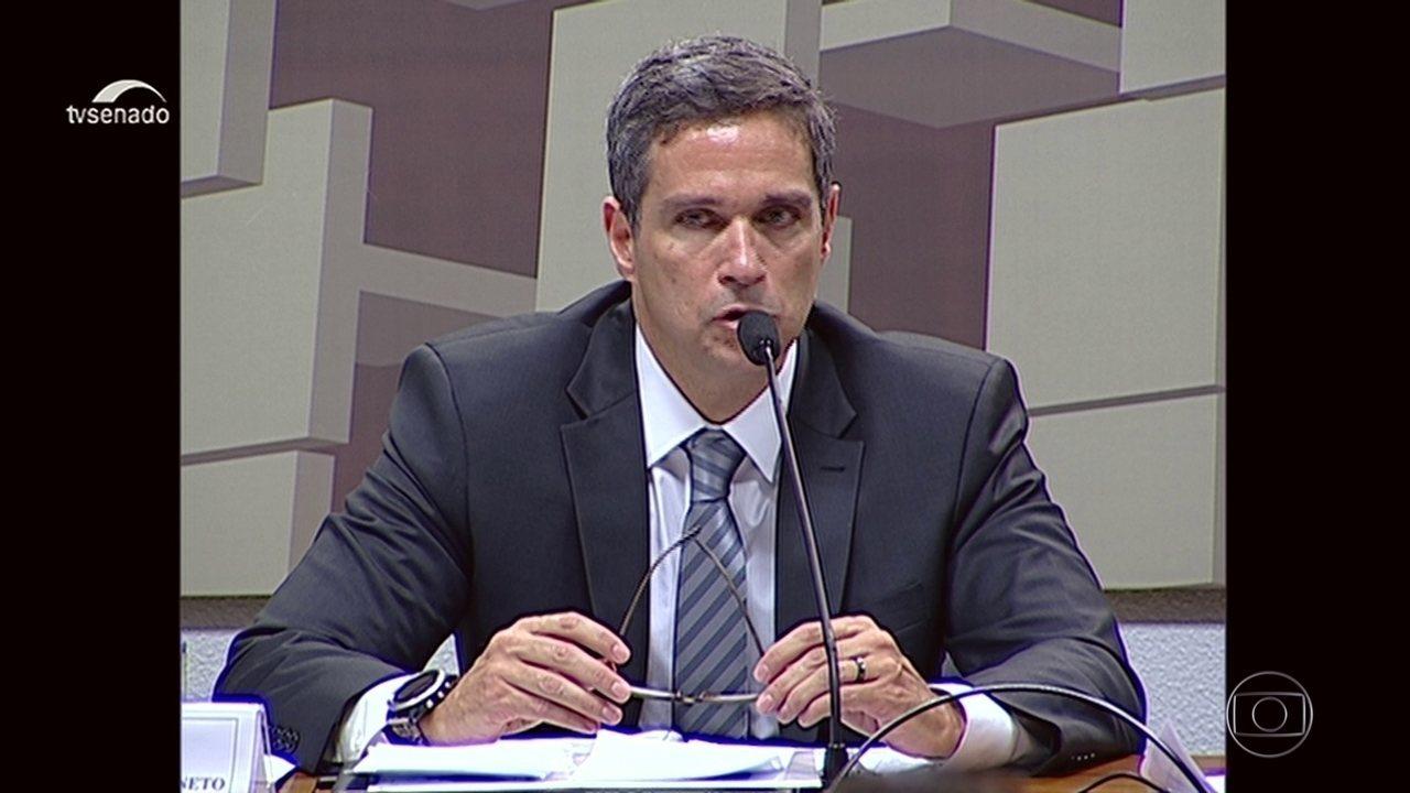 Comissão de assuntos econômicos do Senado sabatina indicado para presidência do BC