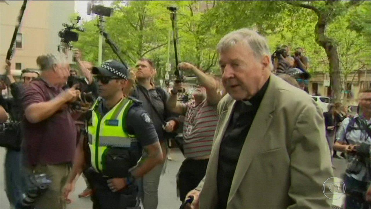 Justiça australiana anuncia condenação de cardeal por abuso sexual