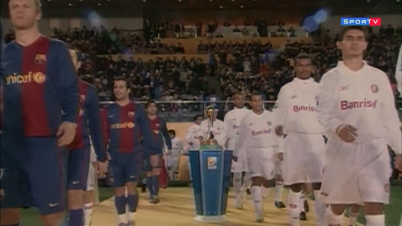 Jogos Para Sempre: Abel Braga lembra o Internacional x Barcelona de 2006