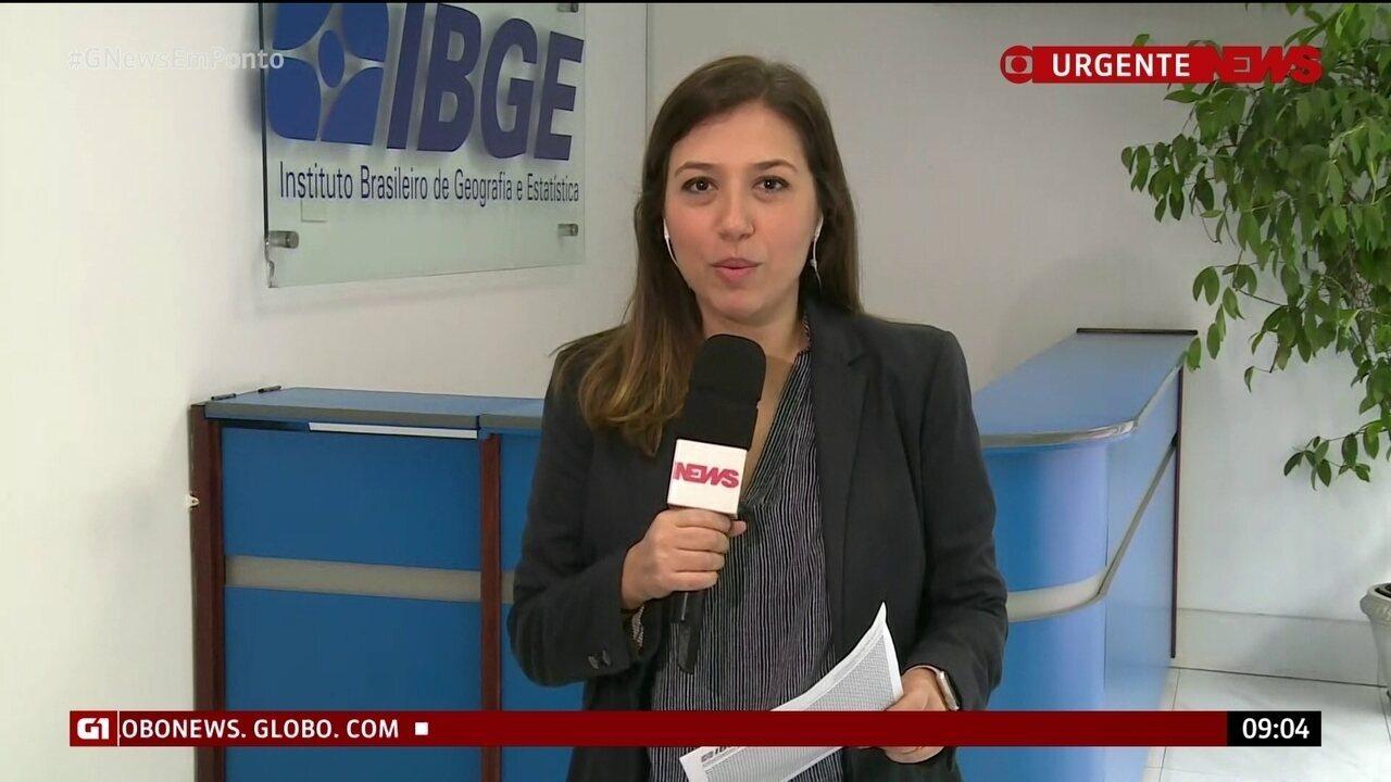 IBGE divulga crescimento de 1,1% do PIB em 2018