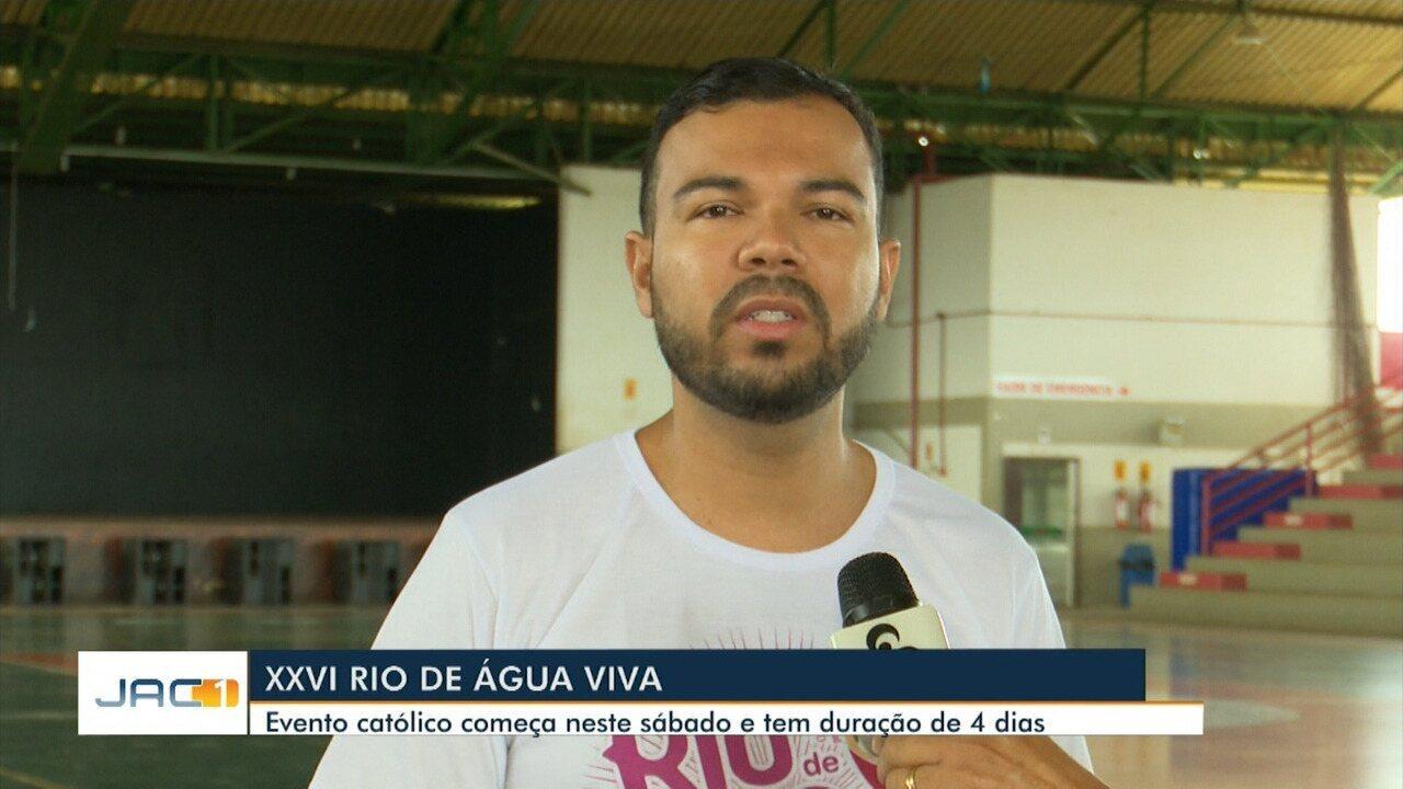 Evento católico, Rio de Água Viva começa neste sábado em Rio Branco e dura 4 dias