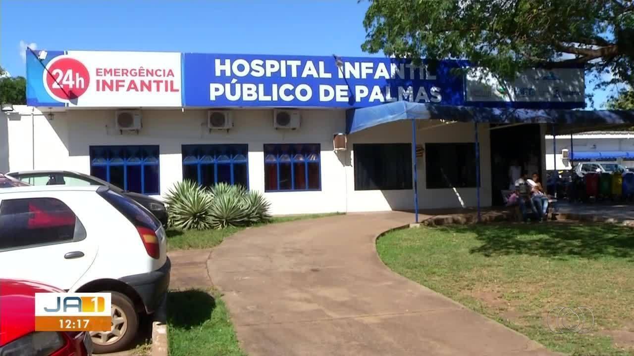 Pacientes sofrem com falta de médicos em Hospital Infantil de Palmas