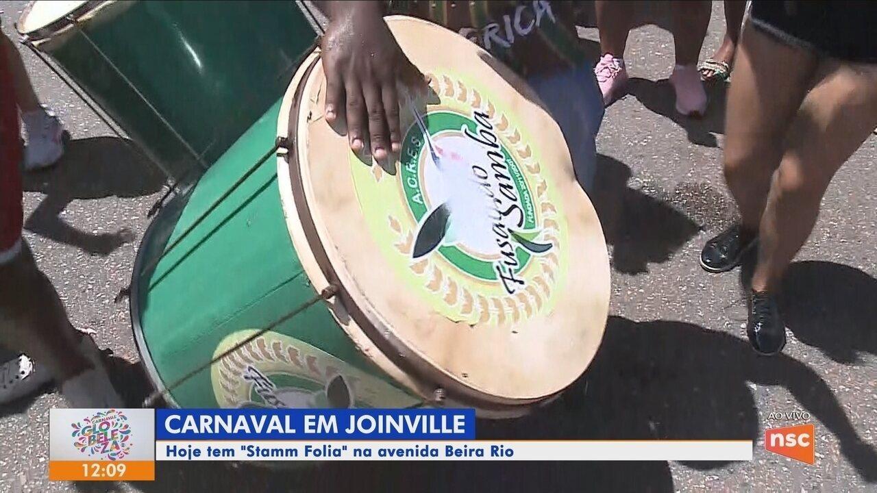 Foliões têm opção de carnaval em Joinville