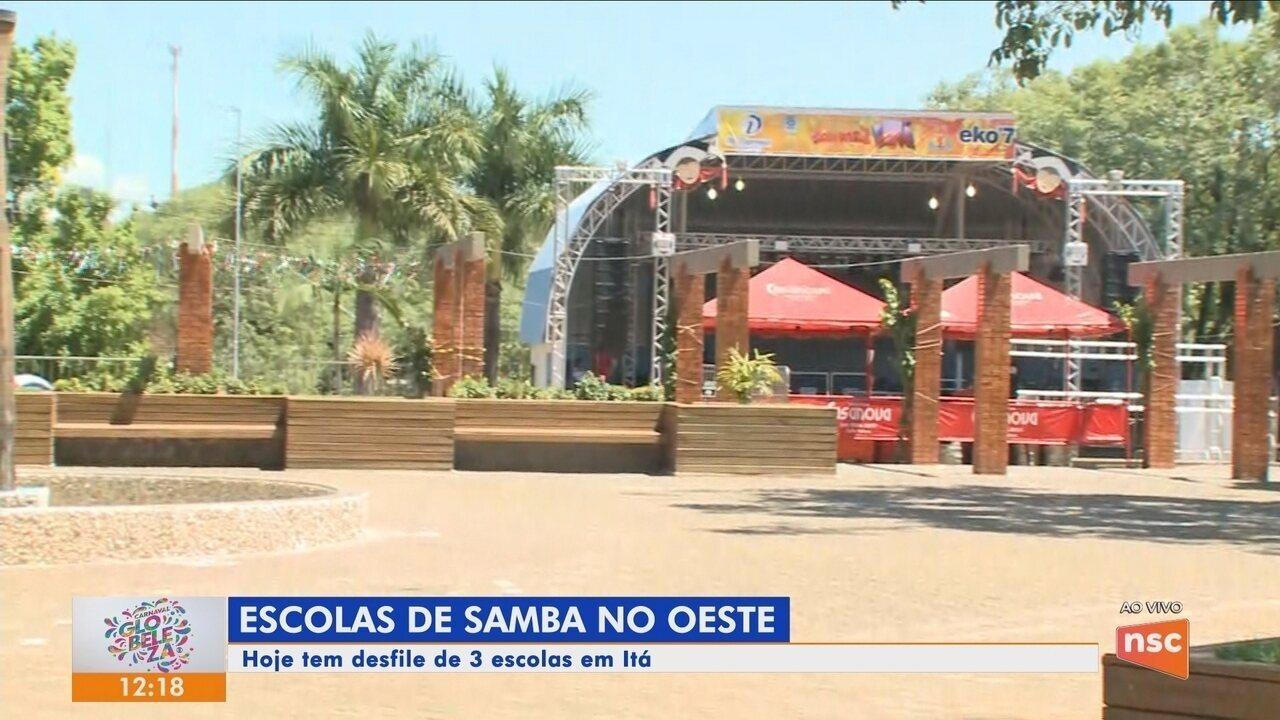 Confira a programação do carnaval de Itá