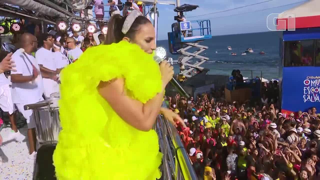 Carnaval 2019: Ivete Sangalo canta 'Cadê Dalila' no circuito Dodô