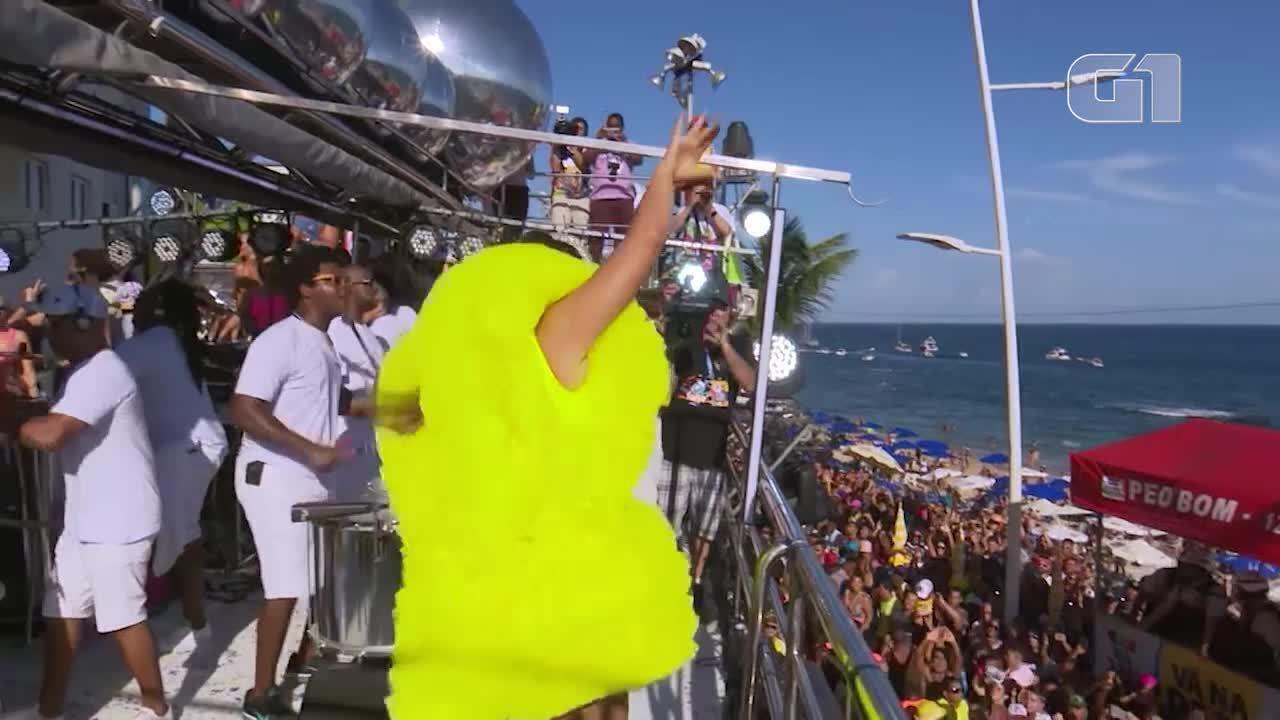 Carnaval 2019: Ivete Sangalo canta 'Nabucodonosor' na Barra