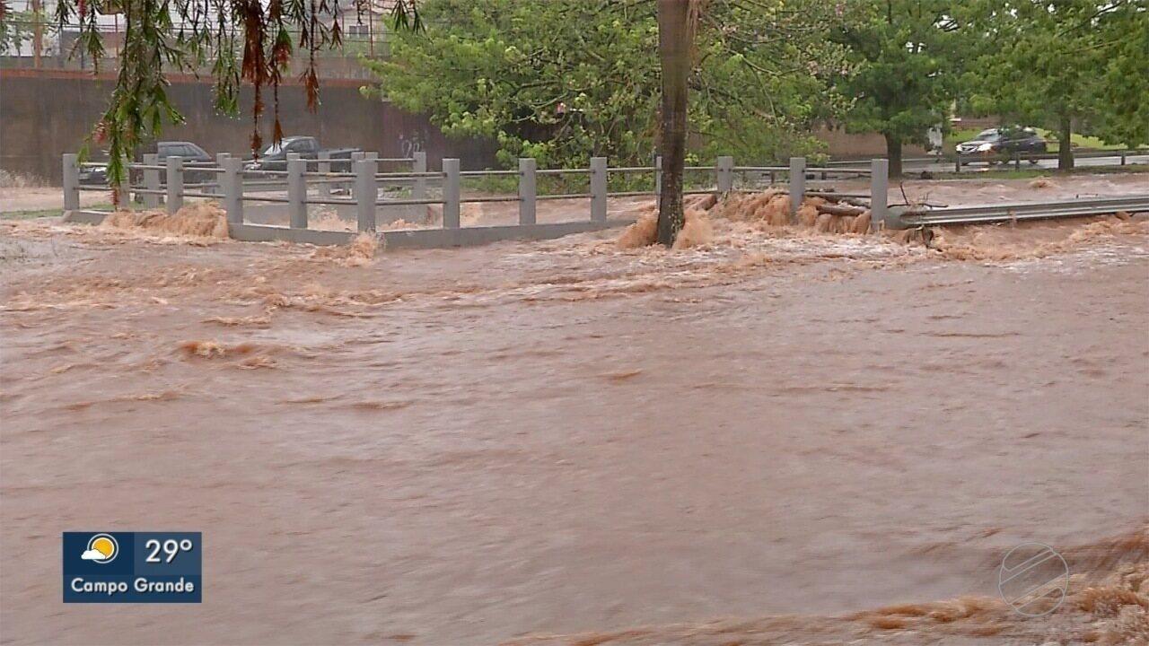 Confira o histórico de inundações em Campo Grande