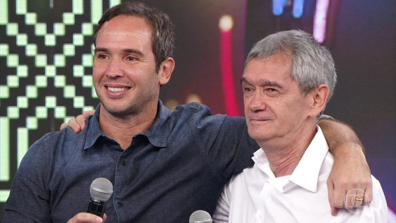 Serginho Groisman e Caio Ribeiro acertam música do Trem da Alegria