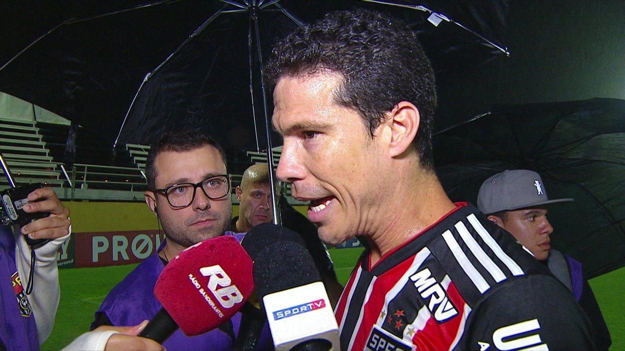 """Hernanes: """"Com certeza, nos próximos dois jogos, vou conseguir alcançar o topo da forma"""""""