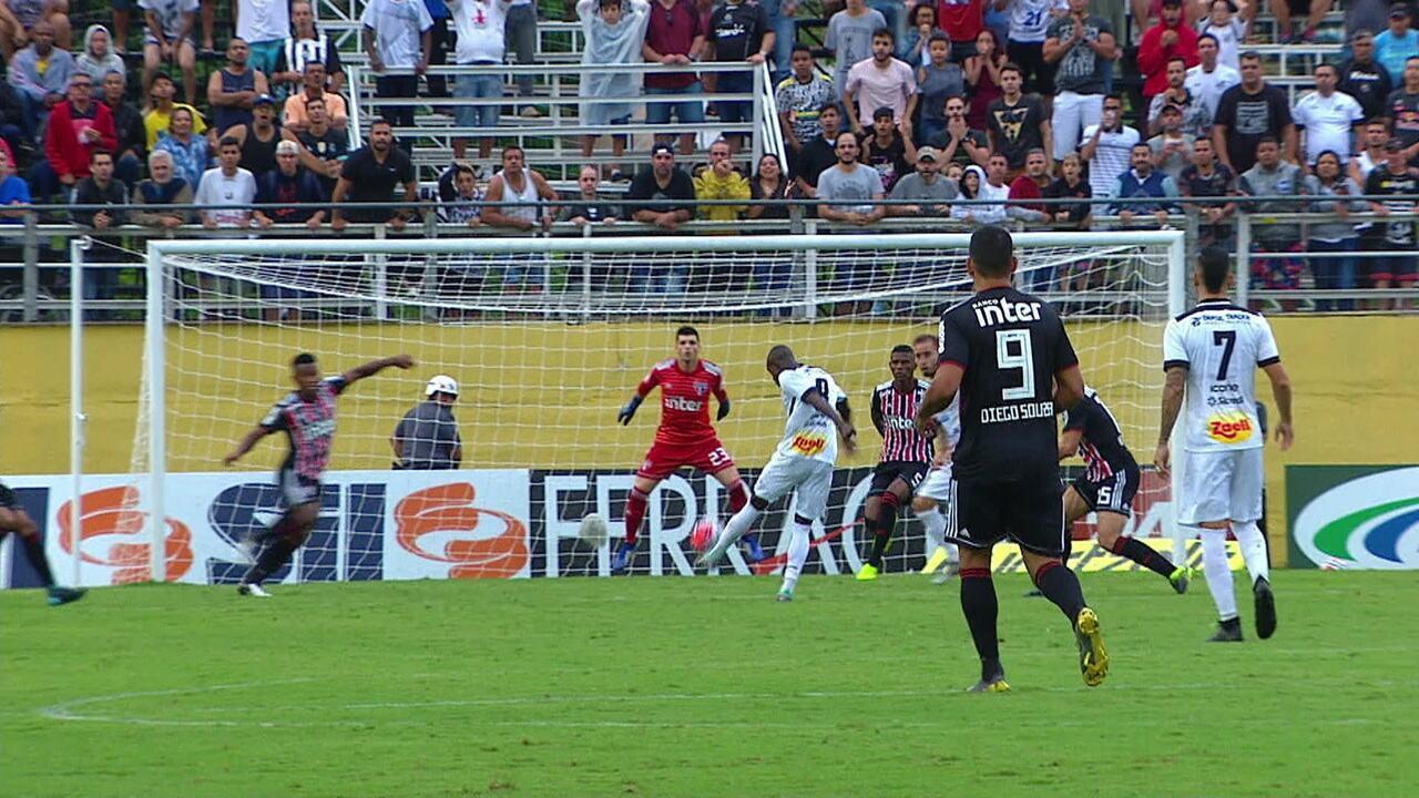 Melhores momentos de Bragantino 0 x 2 São Paulo pela 9ª rodada do Campeonato Paulista 2019