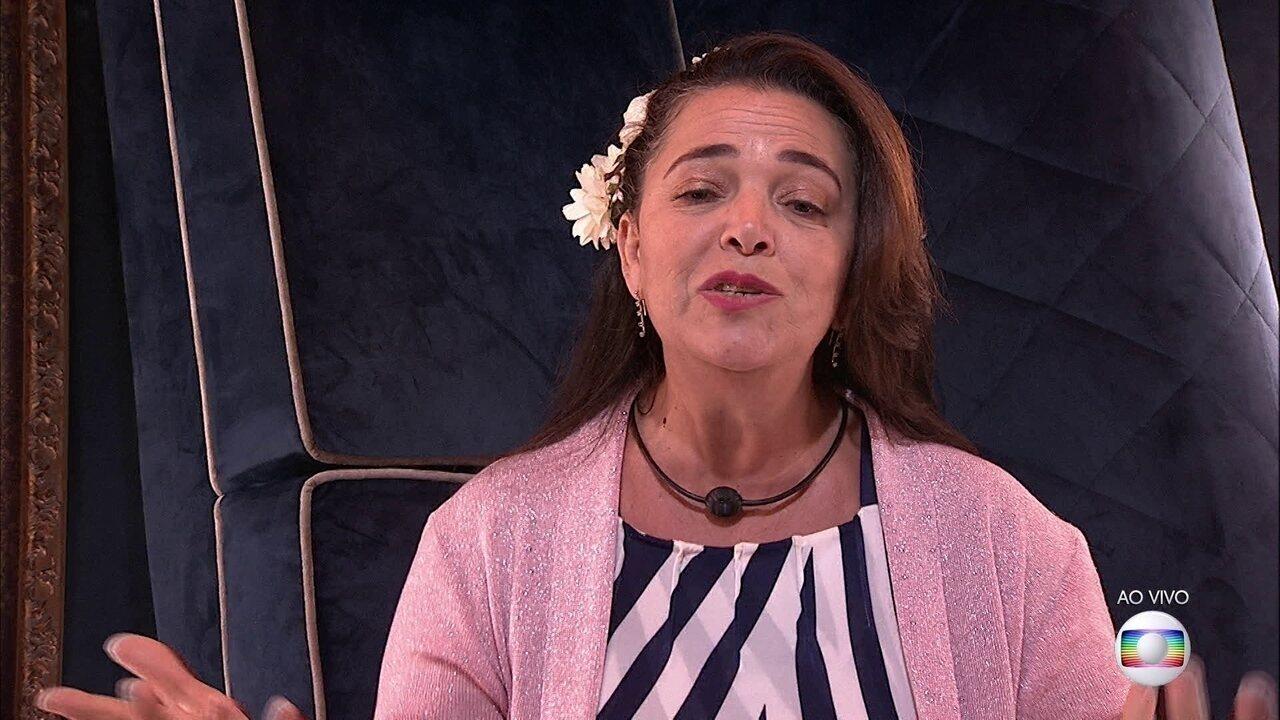 Tereza defende permanência: 'Por favor, mantenha essa mulher guerreira'