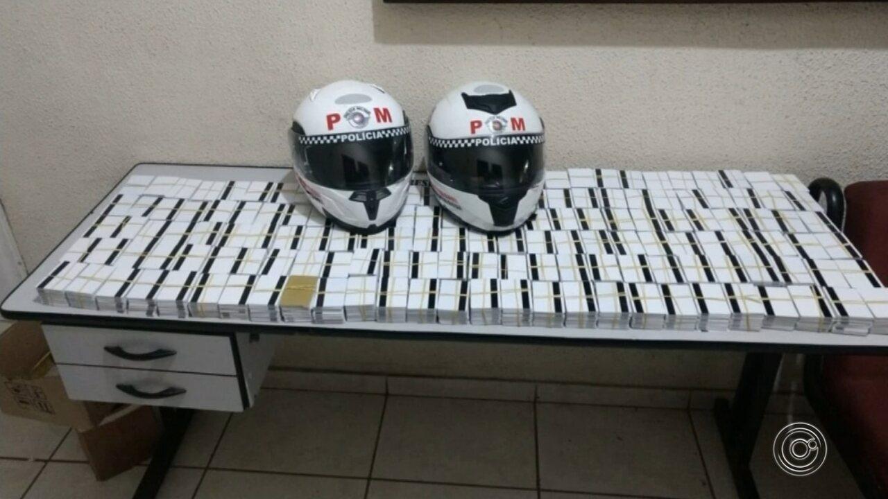 Mais de 7 mil cartões magnéticos clonados são apreendidos com trio em agência bancária