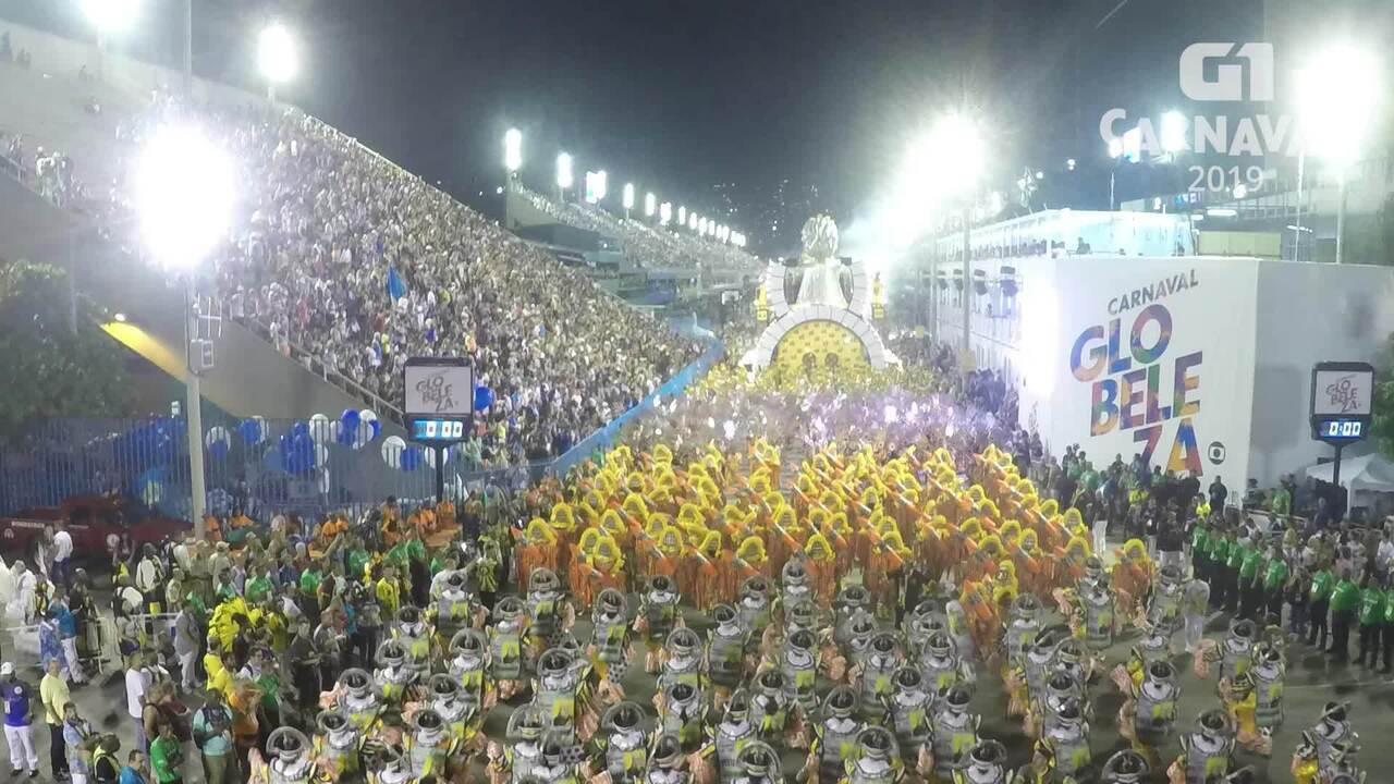 Carnaval 2019 G1: Timelapse São Clemente