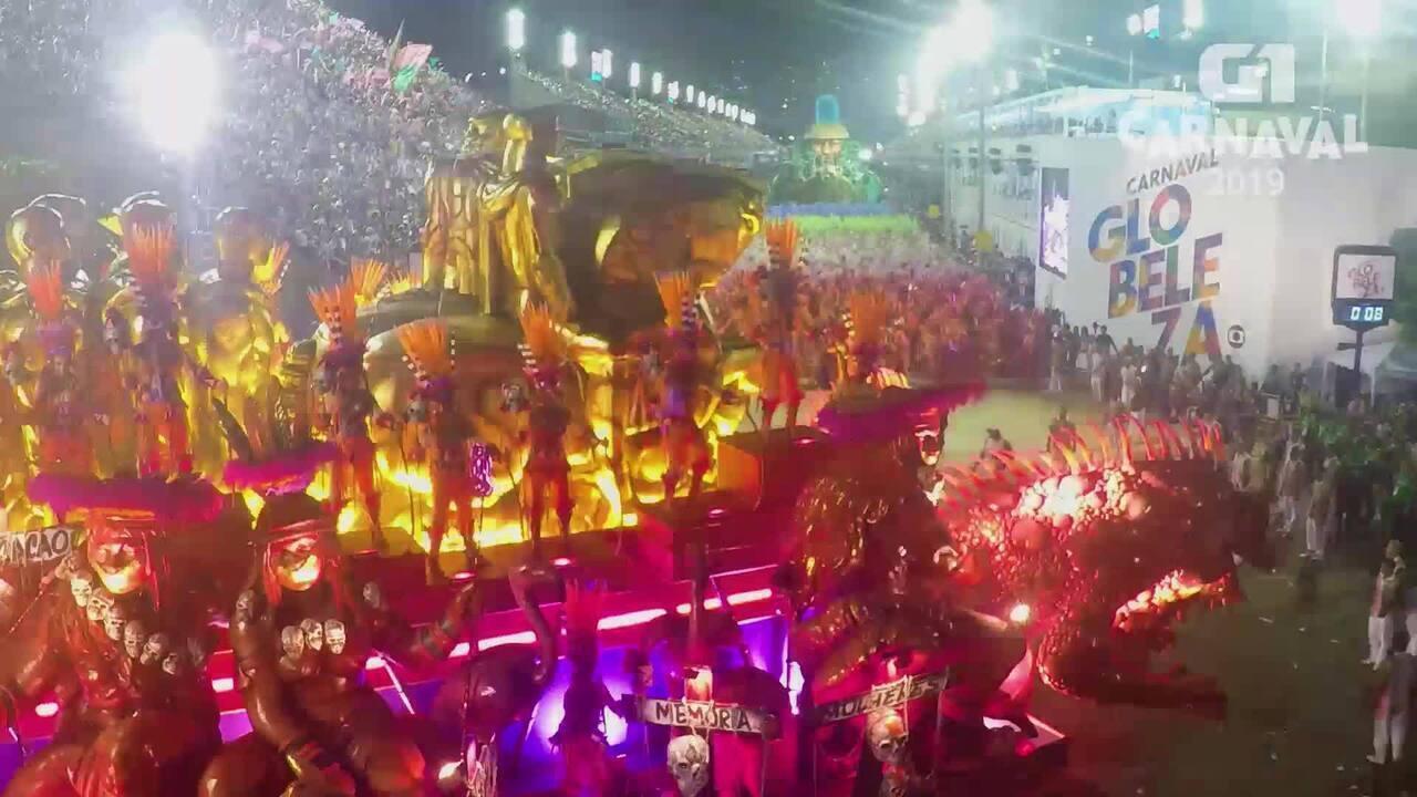 Carnaval 2019 G1: Timelapse Mangueira