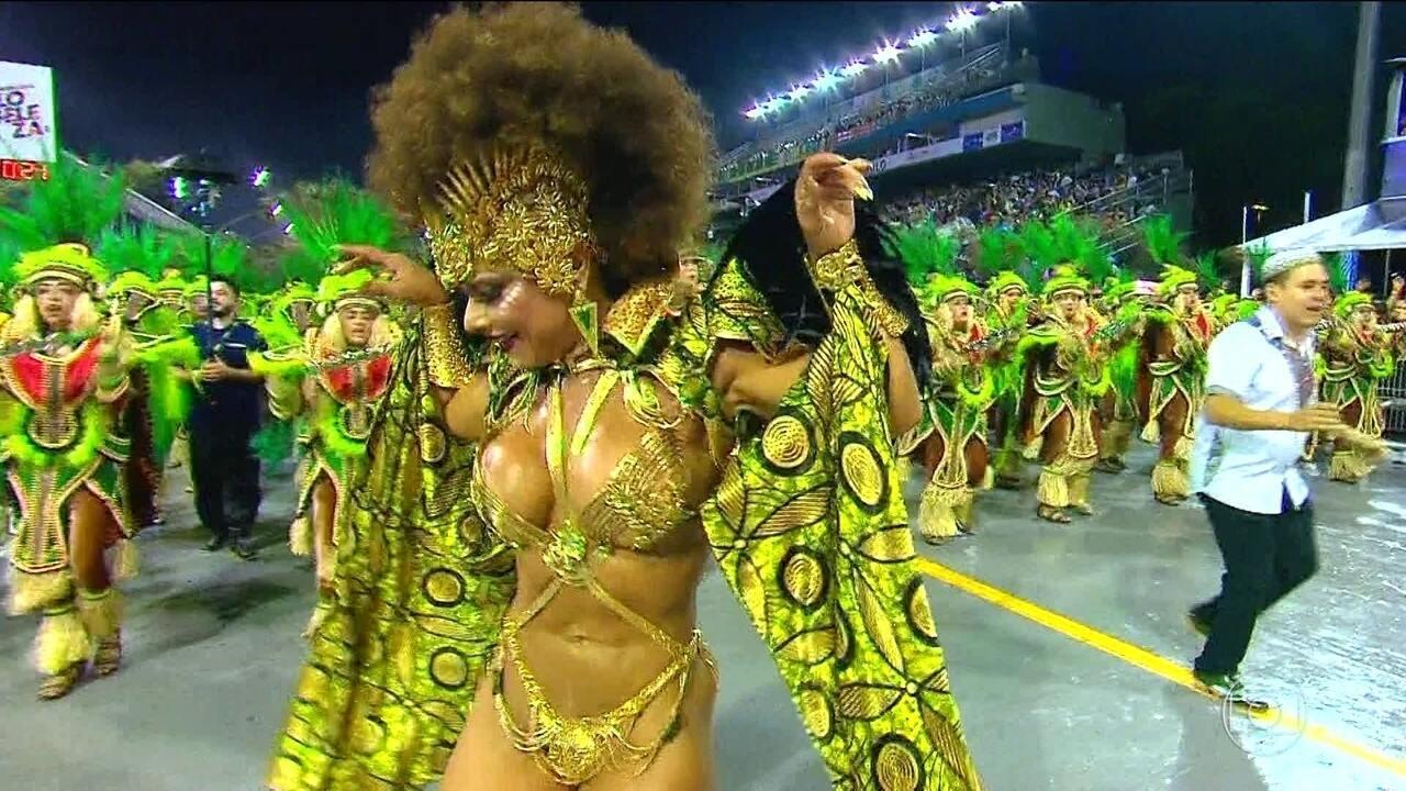 Mancha Verde ganhou o Carnaval exaltando a força da mulher negra