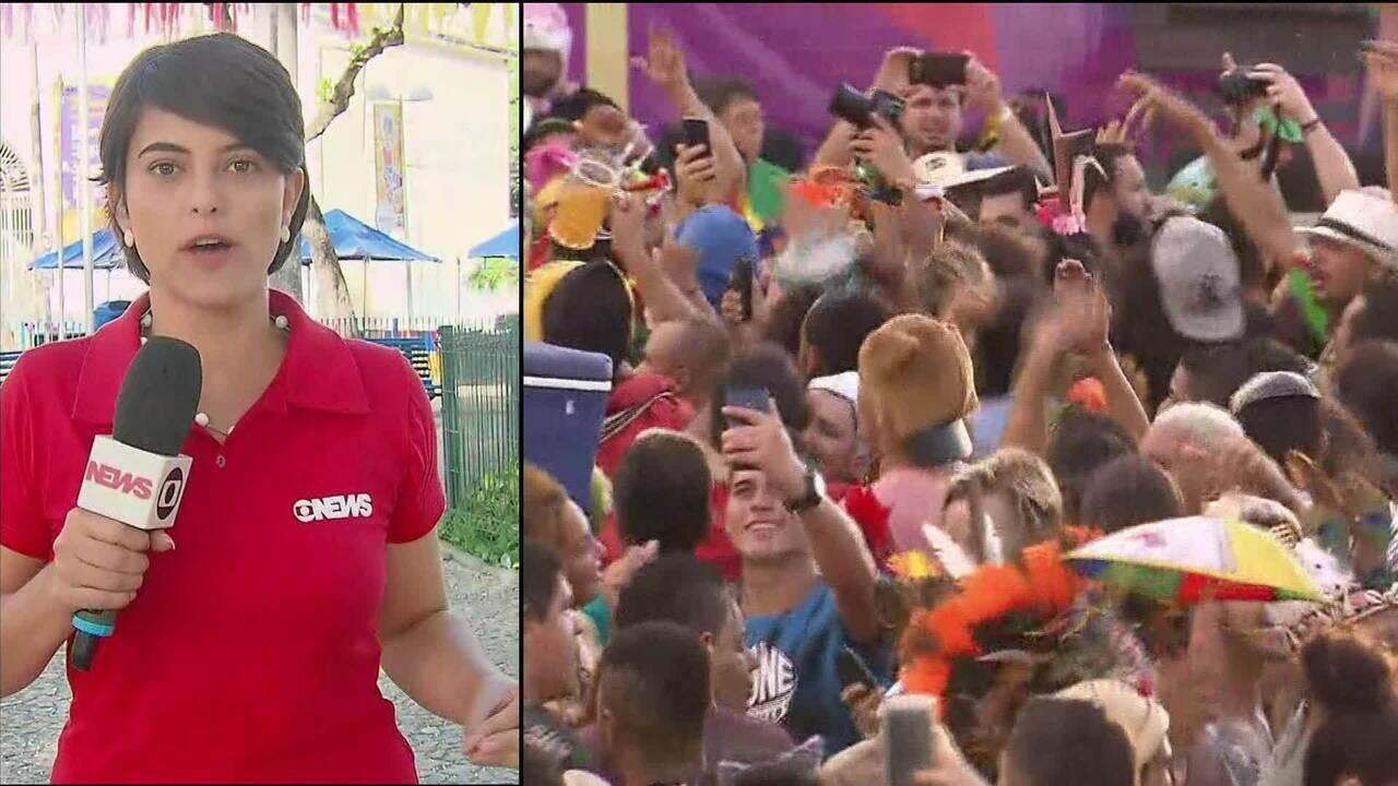 Carnaval no Recife reúne 1,6 milhão de pessoas nas ruas