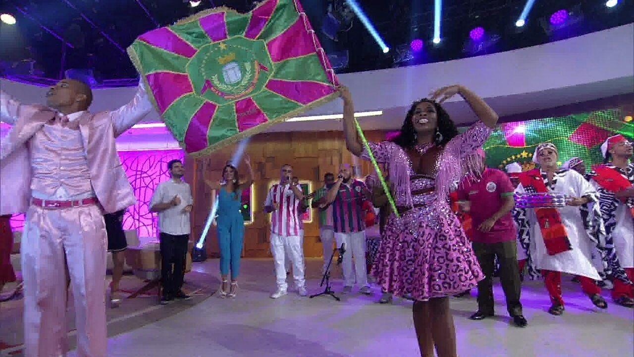 Estação Primeira de Mangueira comemora vigésimo título no Carnaval carioca