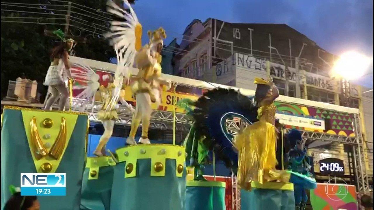 Gigante do Samba é campeã do carnaval pernambucano em 2019