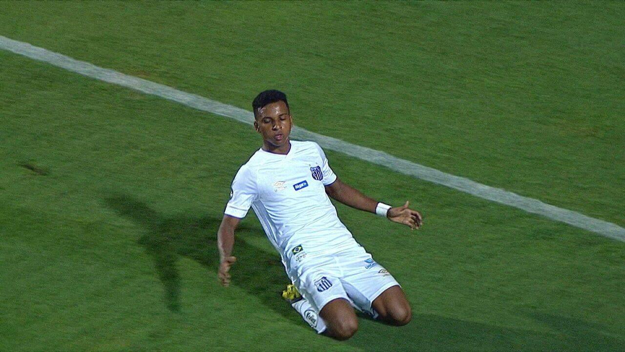Os gols de Santos 4 x 0 América-RN pela Copa do Brasil