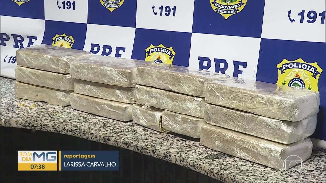 Motorista é preso com 12 quilos de cocaína na BR-262