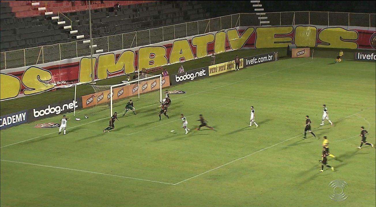 Confira como foi o triunfo do Botafogo-PB sobre o Vitória pela Copa do Nordeste