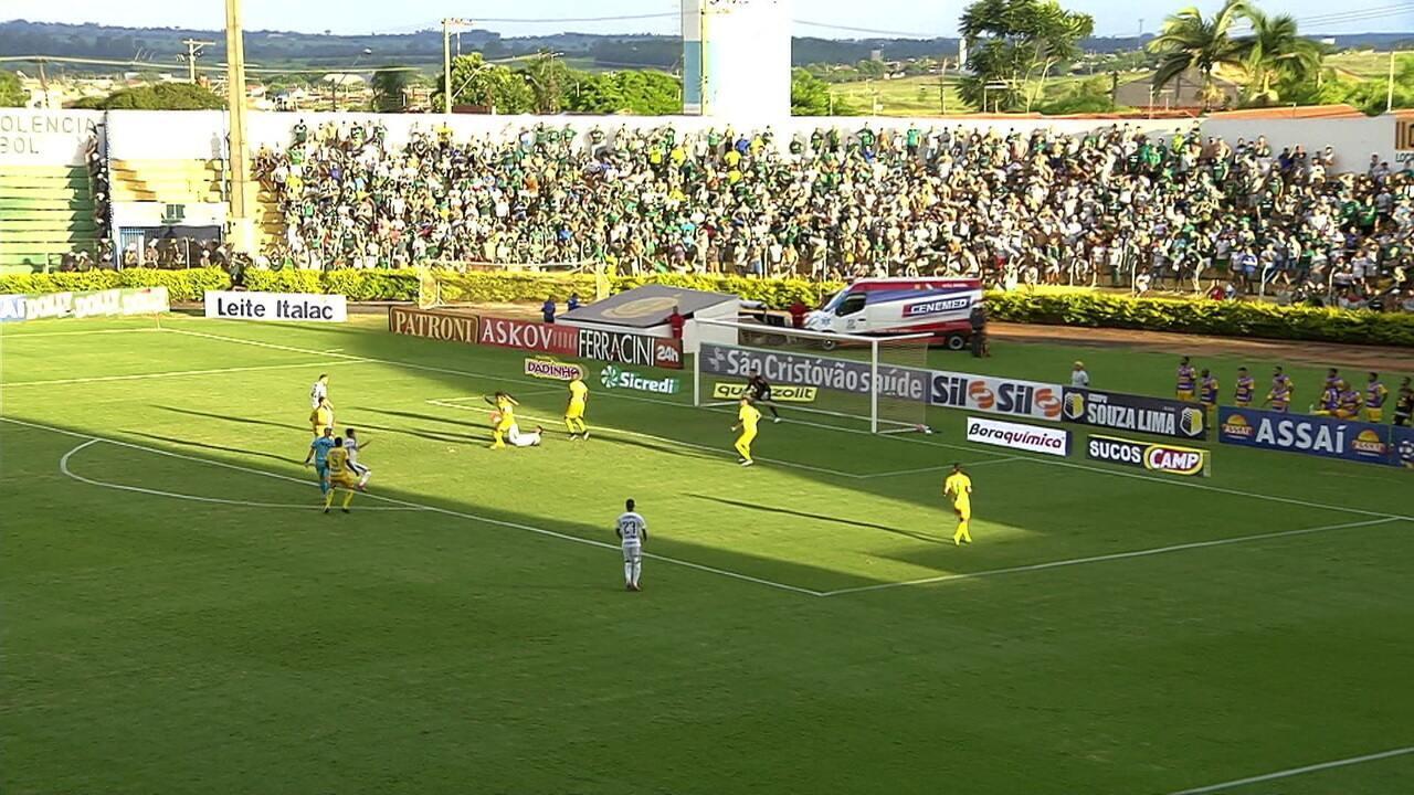 Melhores momentos de Mirassol 1 x 1 Palmeiras pelo Campeonato Paulista