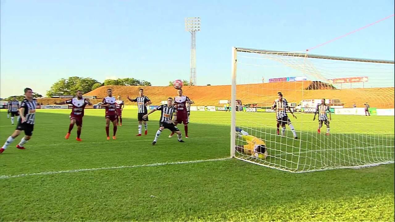 Melhores momentos de Patrocinense 0 x 1 Atlético-MG, pelo Campeonato Mineiro