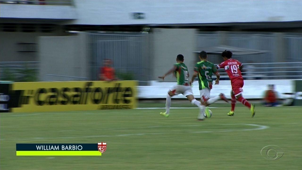 Willian Barbio é o artilheiro do Galo no Alagoano, com quatro gols