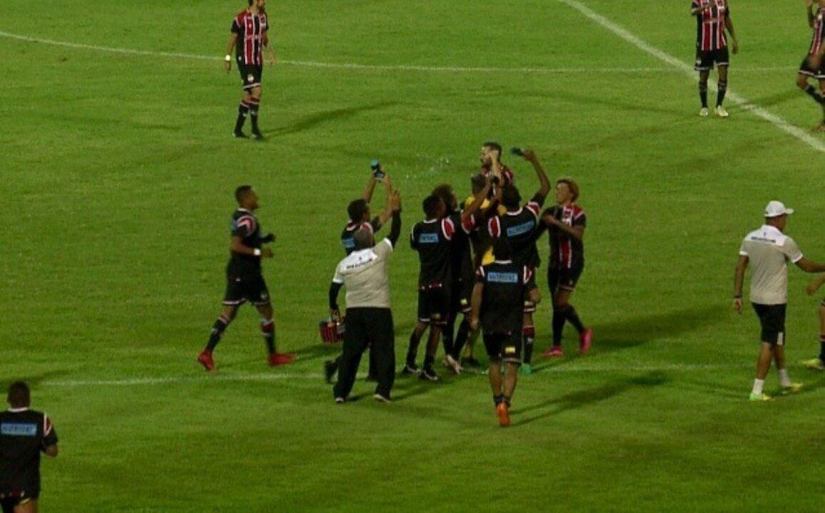 Os gols de River-PI 3 x 0 4 de Julho pela 9ª rodada do Campeonato Piauiense